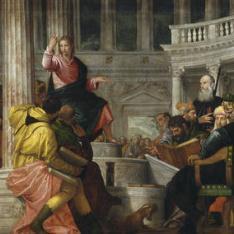 La disputa con los doctores en el Templo