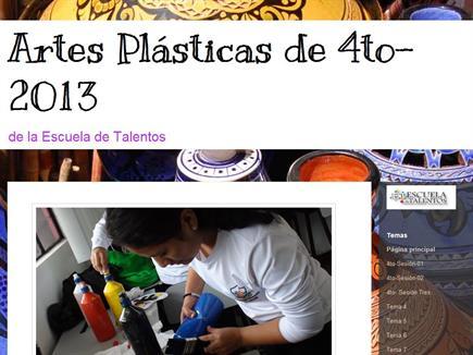 Artes Plásticas de la Escuela de Talentos
