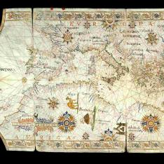 Derrotero del Mediterráneo y costa atlántica