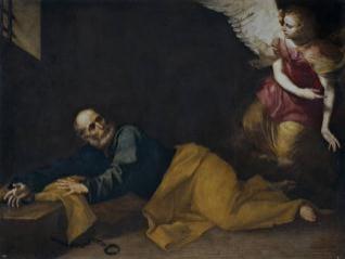 San Pedro, libertado por un ángel