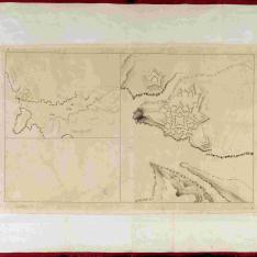 Plano de la Fortaleza de Sn. Phelipe