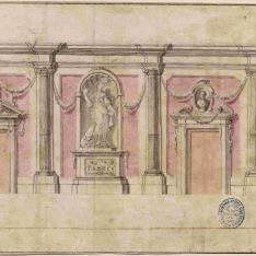 Sección de nave o galería