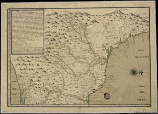 Descripcion Geografrica que comprehende parte de la costa del Seno Mexicano