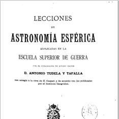 Lecciones de astronomía esférica