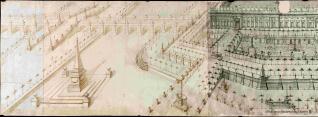 Proyectos para jardines de un palacio real