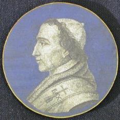 Micromosaico con la efigie de Pío VII