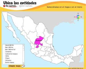 Estados y capitales de México. ¿Cómo se llama? INEGI de México