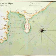 Plan de la Baije de Gibraltar