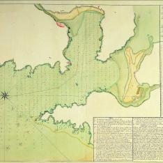 Plano del Puerto de Cedeira