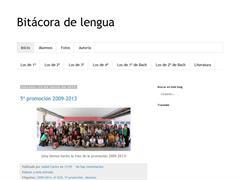 BITÁCORA DE LENGUA