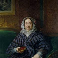 María Francisca de la Gándara y Cardona, condesa viuda de Calderón