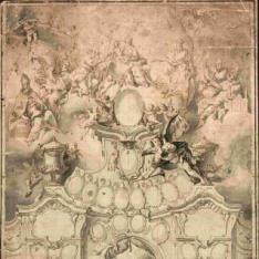 Proyecto para un calendario mural de la archidiócesis de Salzburgo