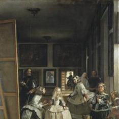 La familia de Felipe IV, o Las Meninas
