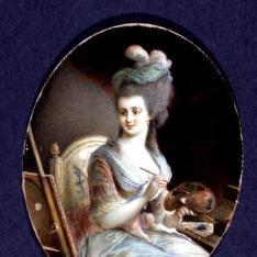 Retrato de una pintora