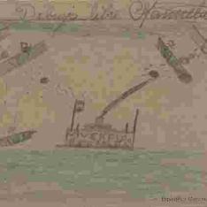 Bombardeo a barco republicano