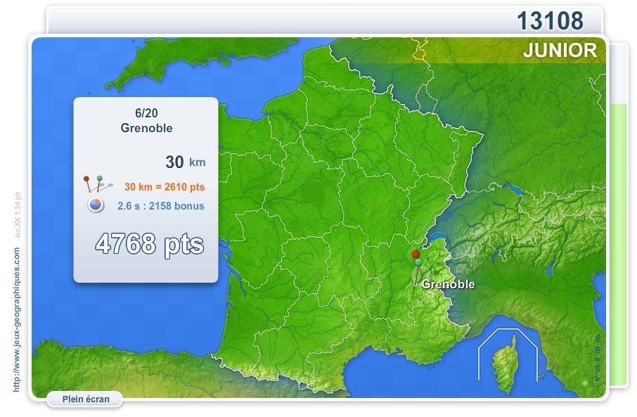 Villes de France Junior. Jeux géographiques