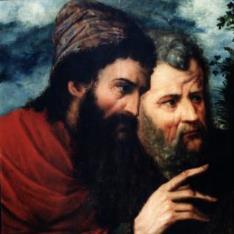 Dos apóstoles (?)