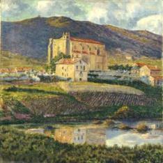 L'église de Lezo. Pays Basque. (La iglesia de Lezo. País Vasco)