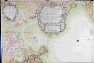 Plano del Proyecto del Arcenal de Cartagena