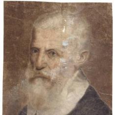Retrato masculino con barba