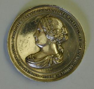Medalla conmemorativa del viaje de la reina Isabel II a Andalucía en 1862