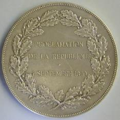 Medalla conmemorativa de la III República Francesa