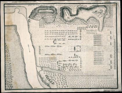 Plano del Campo de los Enemigos en Juantanamo