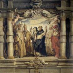 Santa Clara entre los padres y doctores de la Iglesia