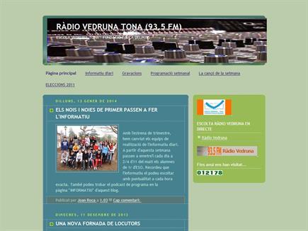 Ràdio Vedruna-Tona (93.5 FM)