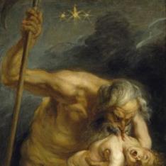 Saturno devorando a un hijo