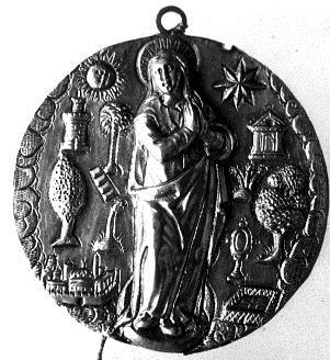 Placa con la Inmaculada Concepción