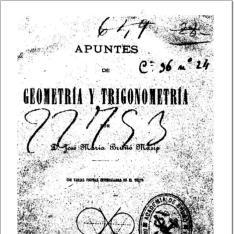 Apuntes de geometría y trigonometría