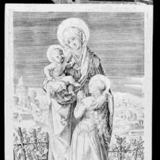 Santa Ana, la virgen y el Niño