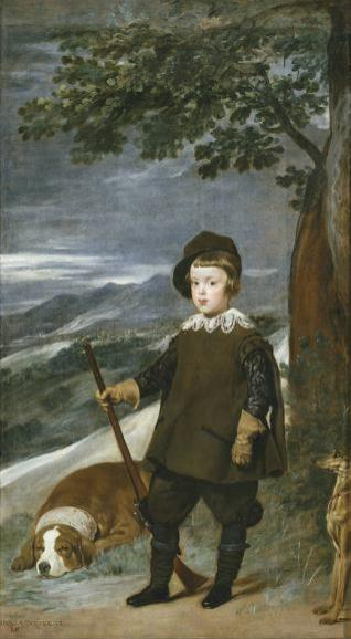 El príncipe Baltasar Carlos, cazador