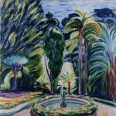 Jardín del surtidor