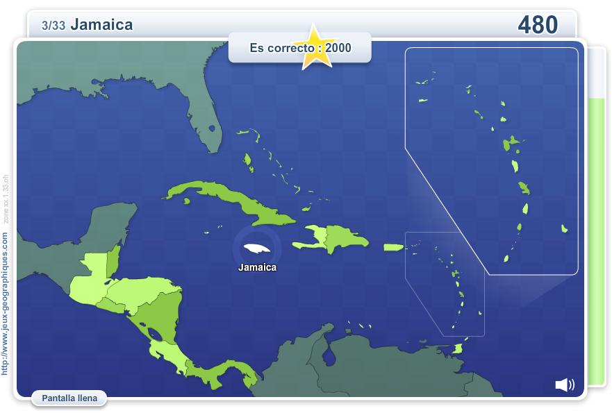 Mapa Interactivo De America Central Geo Quizz America Central