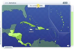 Geo Quizz América Central. Juegos Geográficos
