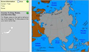 Countries of Asia. Cartographer. Sheppard Software