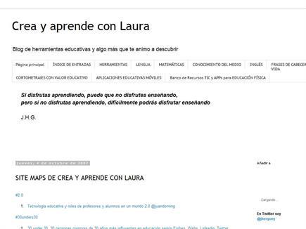 Crea y aprende con Laura