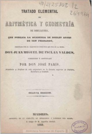 Tratado elemental de aritmética y geometría de dibujantes ...