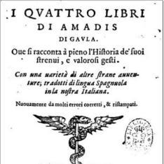 I quattro libri di Amadis di Gavla