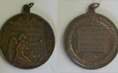 Medalla conmemorativa de la muerte de Nicolás Abreu y Mora, marqués de la Regalía
