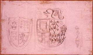 Escudos del palacio Polentinos, Ávila