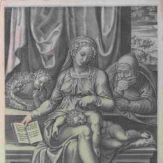 La Sagrada Familia con san Juan