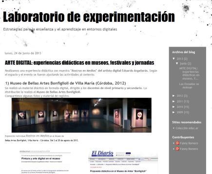 Laboratorio de experimentación