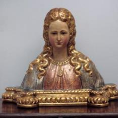 Busto de santa