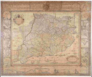 El Principado de Cattaluña y condados de Rossellon y Cerdaña