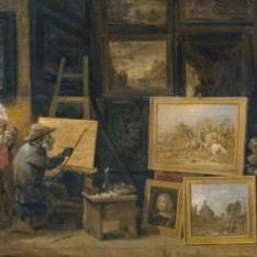 El mono pintor