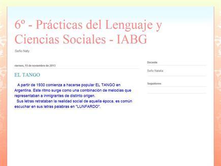 6º - Prácticas del Lenguaje y Ciencias Sociales 6º