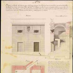 Proyecto para el Arca del Agua del Palacio del  Duque de Alba